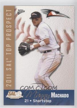 2011 Multi-Ad Sports South Atlantic League Top Prospects #14 - Manny Machado