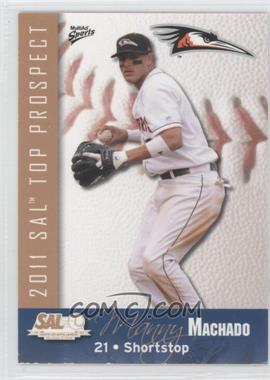 2011 Multi-Ad Sports South Atlantic League Top Prospects #14 - Manny Machado