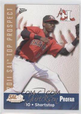 2011 Multi-Ad Sports South Atlantic League Top Prospects #19 - Jurickson Profar