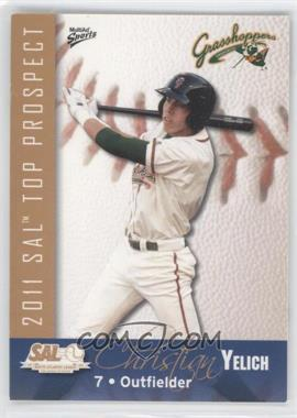 2011 Multi-Ad Sports South Atlantic League Top Prospects #29 - Christian Yelich