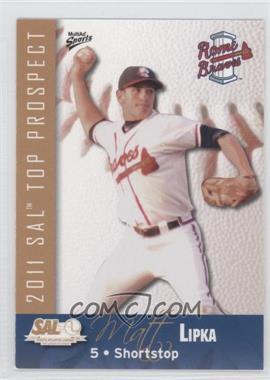 2011 MultiAd Sports South Atlantic League Top Prospects - [Base] #13 - Matt Lipka