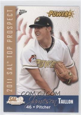 2011 MultiAd Sports South Atlantic League Top Prospects - [Base] #26 - Jameson Taillon