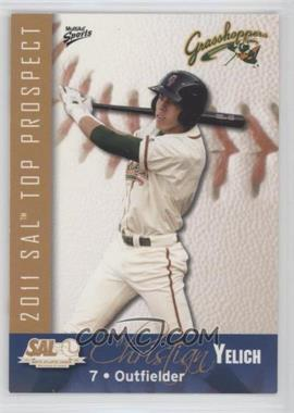 2011 MultiAd Sports South Atlantic League Top Prospects - [Base] #29 - Christian Yelich