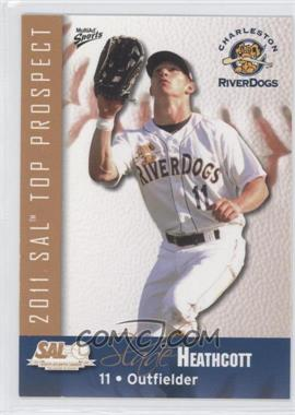 2011 MultiAd Sports South Atlantic League Top Prospects #11 - Slade Heathcott