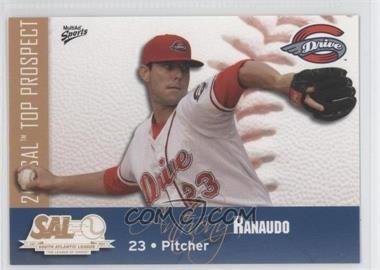 2011 MultiAd Sports South Atlantic League Top Prospects #20 - Anthony Ranaudo
