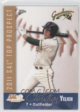 2011 MultiAd Sports South Atlantic League Top Prospects #29 - Christian Yelich