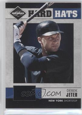 2011 Panini Limited - Hard Hats #1 - Derek Jeter /90