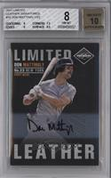 Don Mattingly /23 [BGS 8]