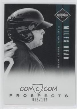 2011 Panini Limited - Prospects - OptiChrome #22 - Miles Head /199