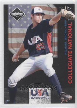 2011 Panini Limited - USA Baseball 2011 National Teams #21 - Michael Wacha /199