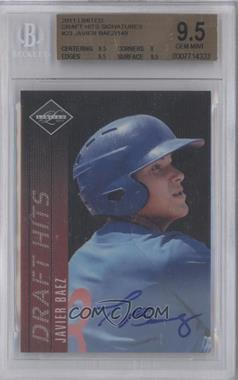 2011 Panini Limited Limited Draft Hits Signatures [Autographed] #23 - Javier Baez /149 [BGS 9.5]