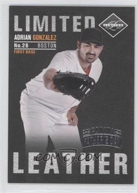 2011 Panini Limited Limited Leather Father's Day #3 - Adrian Gonzalez /5