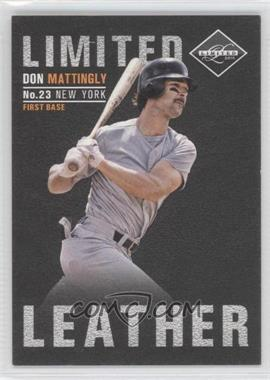 2011 Panini Limited Limited Leather #16 - Don Mattingly /199