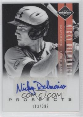 2011 Panini Limited Prospects Signatures [Autographed] #17 - Nicky Delmonico /399