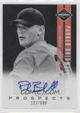 2011 Panini Limited Prospects Signatures [Autographed] #18 - Parker Bridwell /699