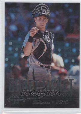 2011 Playoff Contenders - Draft Tickets - Crystal Collection #DT8 - Nicky Delmonico /299