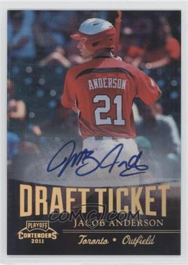 2011 Playoff Contenders - Draft Tickets - Signatures [Autographed] #DT39 - Jacob Anderson