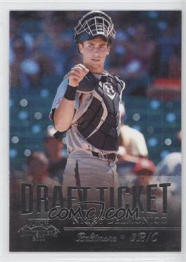 2011 Playoff Contenders - Draft Tickets #DT8 - Nicky Delmonico