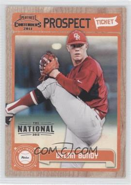 2011 Playoff Contenders - Prospect Tickets - The National 2012 #RT9 - Dylan Bundy /5