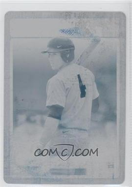 2011 Playoff Contenders Prospect Tickets Printing Plate Cyan #19 - George Springer /1