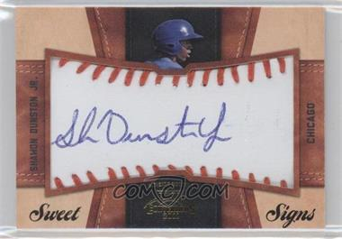 2011 Playoff Contenders Sweet Signs #32 - Shawon Dunston Jr. /99