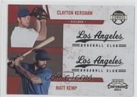 Clayton Kershaw, Matt Kemp