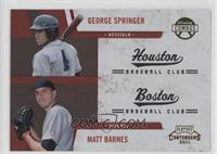 George Springer, Matt Barnes
