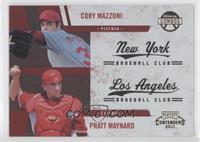 Cory Mazzoni, Pratt Maynard