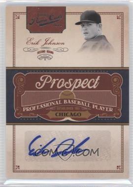 2011 Playoff Prime Cuts - Prospect Signatures #EJ - Erik Johnson /299