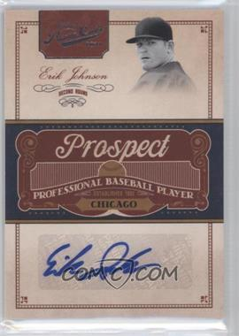 2011 Playoff Prime Cuts Prospect Signatures #EJ - Erik Johnson /299