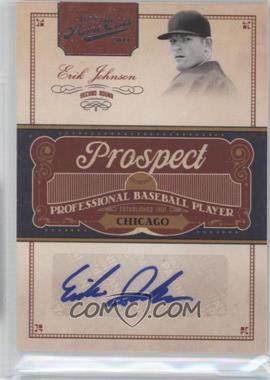 2011 Playoff Prime Cuts Prospect Signatures #EJ - Erik Johnson /299