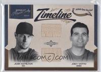 Joey Votto, Josh Hamilton /99