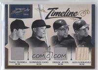 Alex Rodriguez, Derek Jeter, Mark Teixeira, Robinson Cano /99