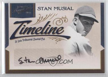 2011 Playoff Prime Cuts Timeline Signatures #20 - Stan Musial /10