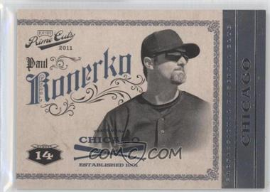 2011 Playoff Prime Cuts #39 - Paul Konerko /99