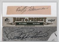 Billy Herman, Ralph Kiner /25