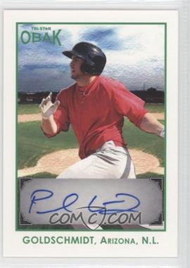 2011 TRISTAR Obak - Autographs - Green #A17 - Paul Goldschmidt /25