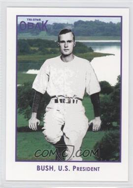 2011 TRISTAR Obak Purple #98 - George Bush /1