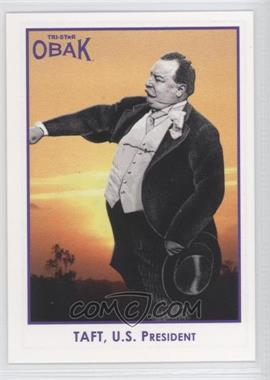 2011 TRISTAR Obak Purple #99 - William Howard Taft /1