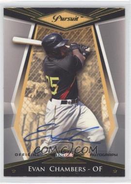 2011 TRISTAR Pursuit - [Base] - Gold Autographs [Autographed] #78 - Evan Chambers /111