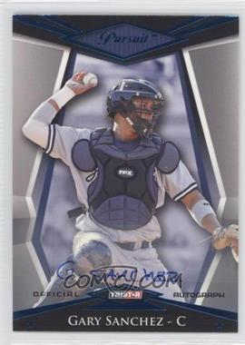 2011 TRISTAR Pursuit [???] #10 - Gary Sanchez /50
