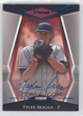 2011 TRISTAR Pursuit Blue Autographs [Autographed] #20 - Tyler Skaggs /50