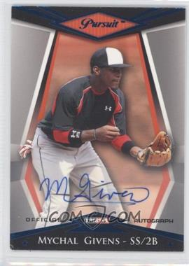 2011 TRISTAR Pursuit Blue Autographs [Autographed] #41 - Mychal Givens /50