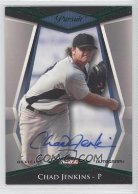 2011 TRISTAR Pursuit Green Autographs [Autographed] #64 - Chad Jenkins /25