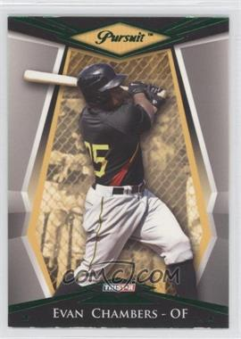 2011 TRISTAR Pursuit Green #78 - Evan Chambers /25