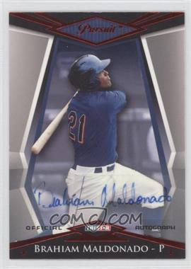 2011 TRISTAR Pursuit Red Autographs [Autographed] #84 - Brahaim Maldonado /5