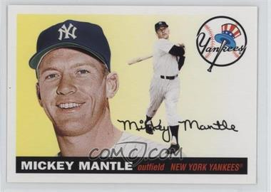 2011 Topps - 60 Years of Topps: The Lost Cards - Original Back #60YOTLC-8 - Mickey Mantle