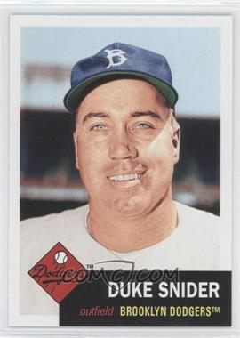 2011 Topps - 60 Years of Topps: The Lost Cards #60YOTLC-2 - Duke Snider