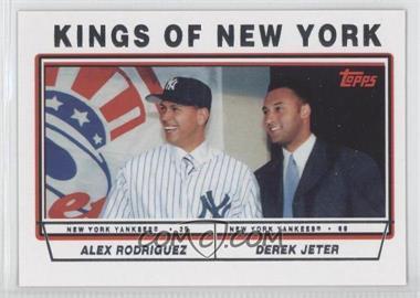 2011 Topps - 60 Years of Topps #60YOT-112 - Alex Rodriguez, Derek Jeter