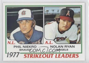 2011 Topps - 60 Years of Topps #60YOT-27 - Phil Niekro, Nolan Ryan